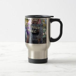 Add Your Own Uploaded Photo to Gift Upload Travel Mug