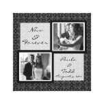 Add Your Own Wedding Photo Wrapped Canvas Canvas Print