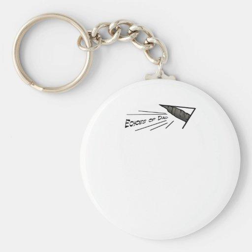 Add your own words! basic round button keychain