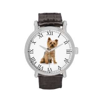 Personalized Add Your Pets Photo Cute Dog Picture Watch