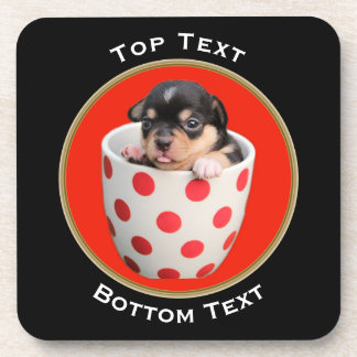Add Your Photo and Text Custom Coaster