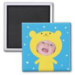 Add Your Photo Bear Frame Fridge Magnets