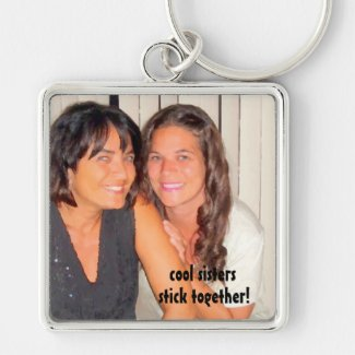 Cool Sisters Keychain