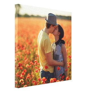 Add Your Photo Custom Keepsake Square Canvas Print