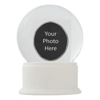 Add Your Photo Custom Snow Globe