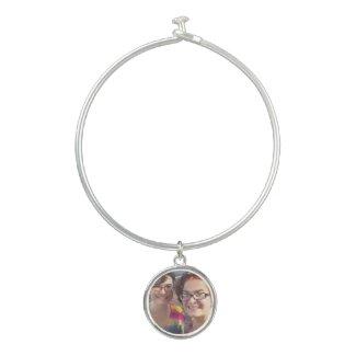 Cute Sisters Bangle Bracelet