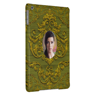 Add Your Photo Damask Chic iPad Air Cover