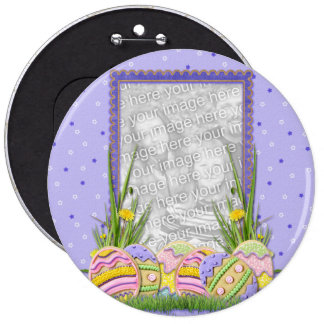 ADD YOUR PHOTO - Easter Egg Cookies Buttons