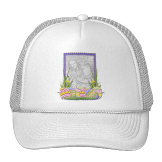 ADD YOUR PHOTO - Easter Egg Cookies Trucker Hats