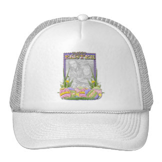 ADD YOUR PHOTO - Easter Egg Cookies Hat