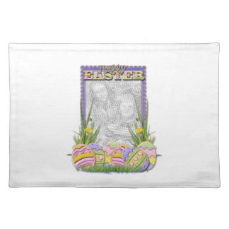 ADD YOUR PHOTO Easter Egg Cookies Placemat