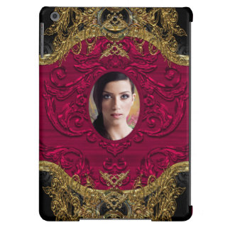 Add Your Photo Elegant Baroque Chic iPad Air Covers