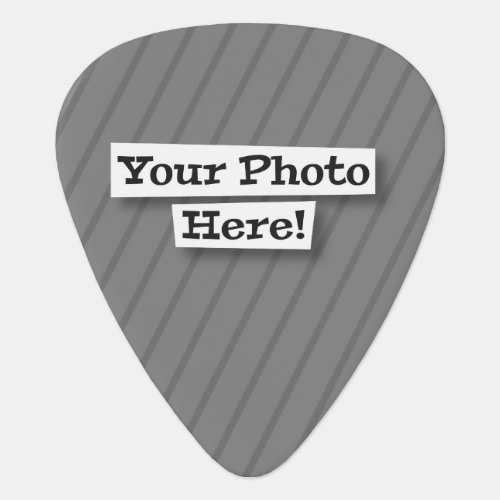 Add Your Photo Guitar Pick