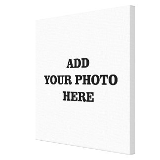 Add your photo here DIY template Canvas Print