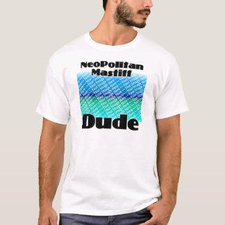 ADD YOUR PHOTO Neopolitan Mastiff Dude T-Shirt
