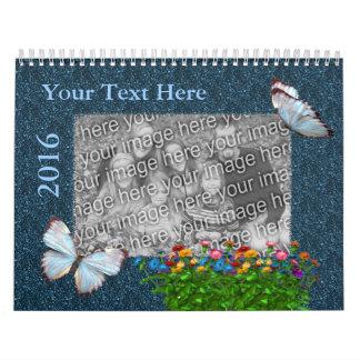 Add Your Photo Pretty Borders 2016 Calendar