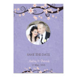 Add Your Photo Prisoners of Love Violet Wedding Invitation