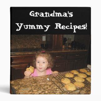 Add your photo Recipe Binder Grandma Yummy Recipes