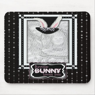 ADD YOUR PHOTO - Some Bunny Loves You Mousepad