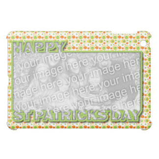 ADD YOUR PHOTO St Pats Cut Out Frame - Circles Cover For The iPad Mini