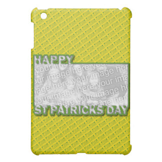 ADD YOUR PHOTO St Pats Cut Out Frame - Yellow iPad Mini Covers