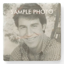 Add Your Photo Stone Coaster