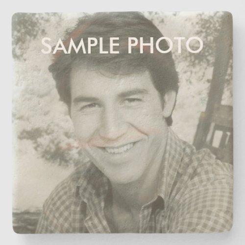 Add Your Photo Stone Coaster