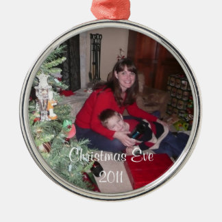 Add your photo, text Christmas Tree Ornament