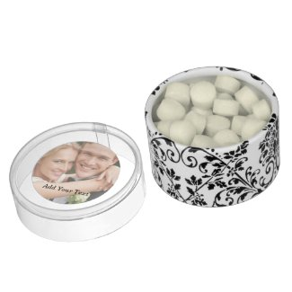 Add Your Photo & Text DIY Wedding Favors Chewing Gum Favors