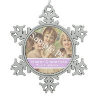 Add your photo, text. Seasons greetings, Christmas Ornaments