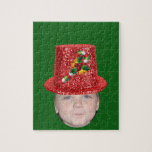 Add Your Photo To A Candy Cane Christmas Hat Puzzles