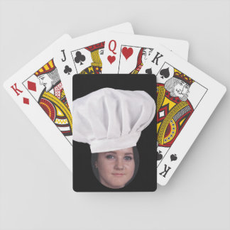Add Your Photo To A Chef Hat Card Deck