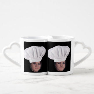 Add Your Photo To A Chef Hat Coffee Mug Set