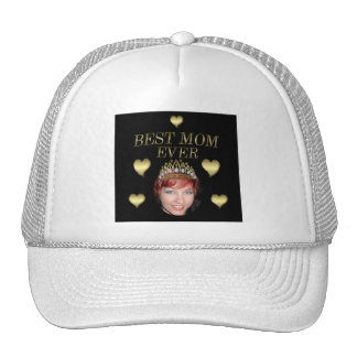 Add Your Photo To A Mothers Day Tiara Trucker Hat