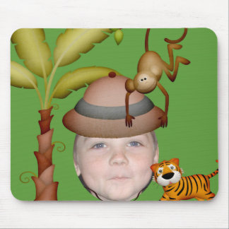 Add Your Photo To A Wild Jungle Safari Theme Mouse Pad