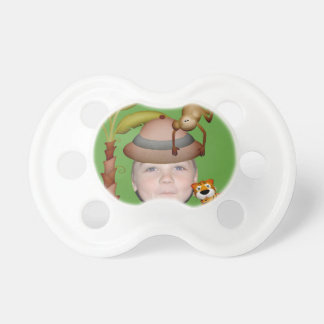 Add Your Photo To A Wild Jungle Safari Theme Pacifier
