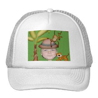 Add Your Photo To A Wild Jungle Safari Theme Trucker Hat