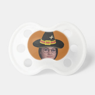 Add Your Photo To A Wizards Hat & Glasses BooginHead Pacifier