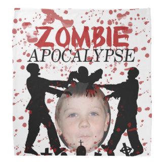 Add Your Photo To A Zombie Apocalypse Invasion Bandana