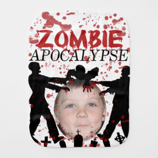 Add Your Photo To A Zombie Apocalypse Invasion Burp Cloth
