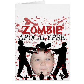 Add Your Photo To A Zombie Apocalypse Invasion Cards