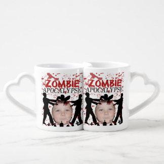 Add Your Photo To A Zombie Apocalypse Invasion Coffee Mug Set