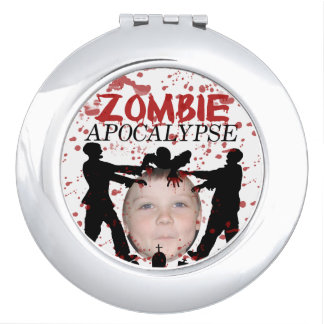 Add Your Photo To A Zombie Apocalypse Invasion Makeup Mirror