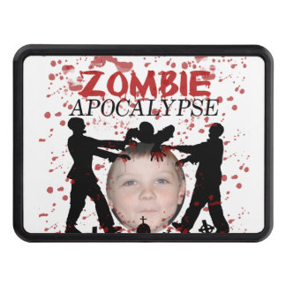 Add Your Photo To A Zombie Apocalypse Invasion Tow Hitch Cover