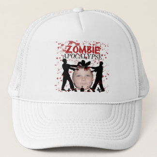 Add Your Photo To A Zombie Apocalypse Invasion Trucker Hat