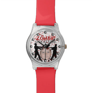 Add Your Photo To A Zombie Apocalypse Invasion Watch