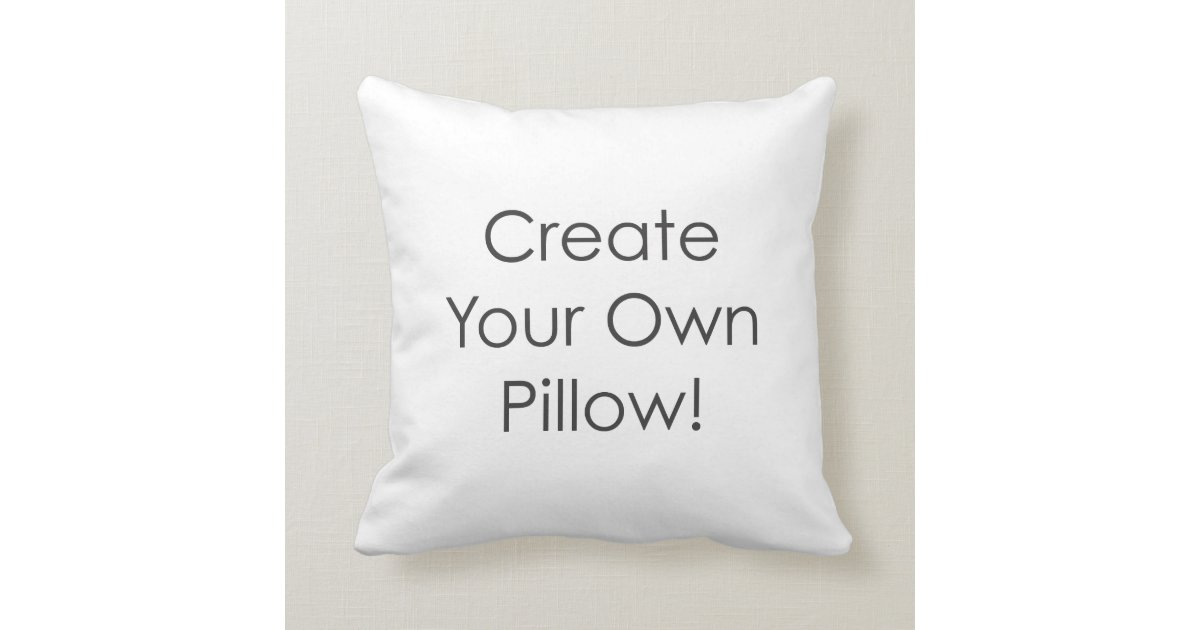 Photo To Create Your Own Pillow Design