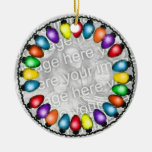 Add Your Photo to this Ceramic Ornament