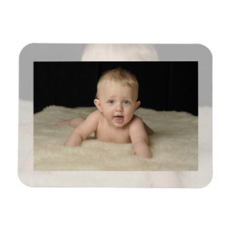 Add Your Photo to this Classic Template Rectangular Photo Magnet