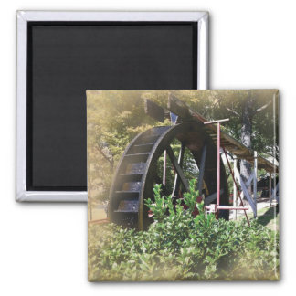add your photo waterwheel magnet
